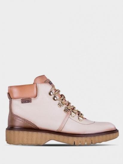 Черевики зі шнурівкочеревики зі шнурівко PIKOLINOS модель W0U-8648_MARFIL — фото - INTERTOP