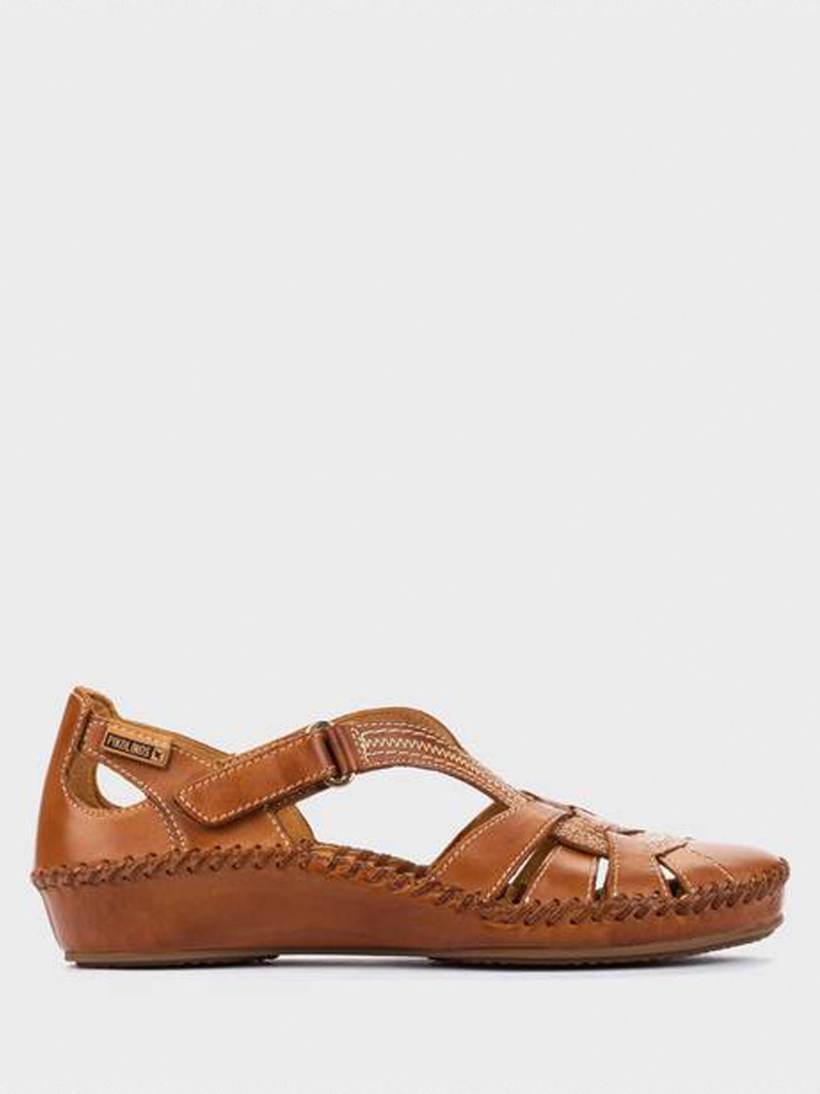 Босоніжки  жіночі PIKOLINOS 655-0904_BRANDY купити взуття, 2017