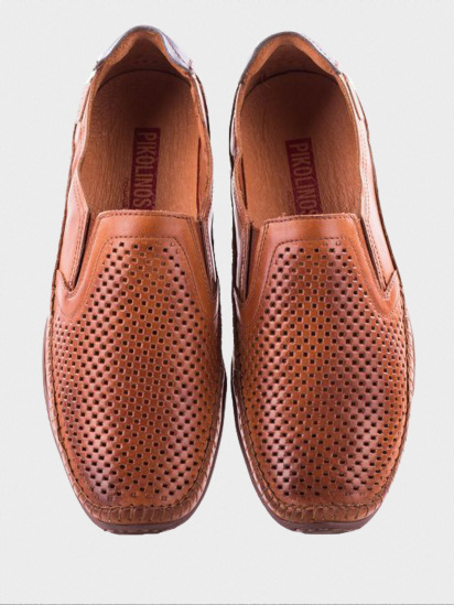 Мокасини  чоловічі PIKOLINOS AZORES 06H-3126_BRANDY брендове взуття, 2017