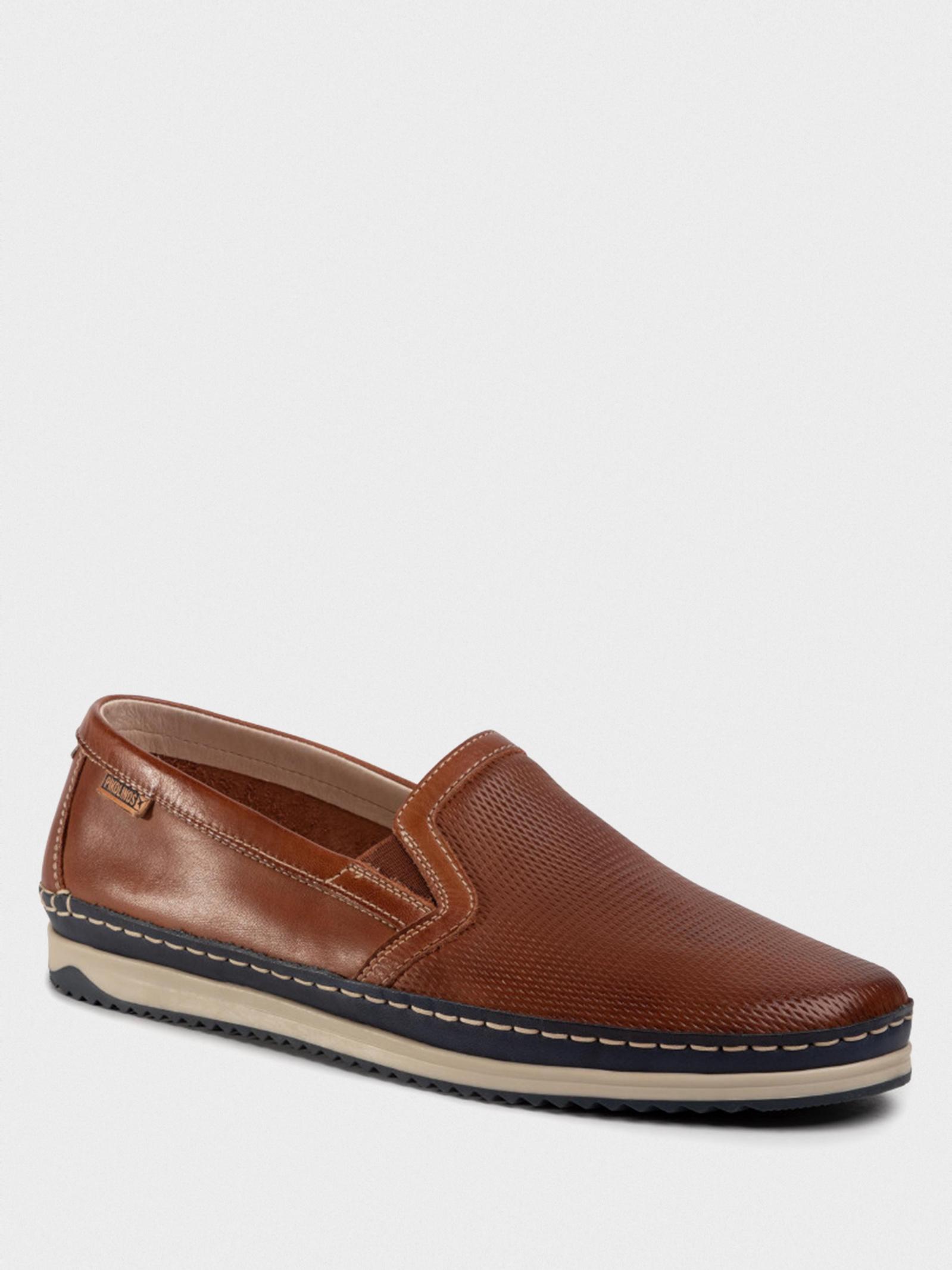 Слипоны мужские PIKOLINOS M1N-3213C1_CUERO купить обувь, 2017