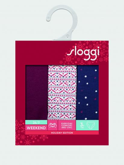 Труси Sloggi модель SLW 24/7 Weekend tai Holiday 3Pmult — фото - INTERTOP