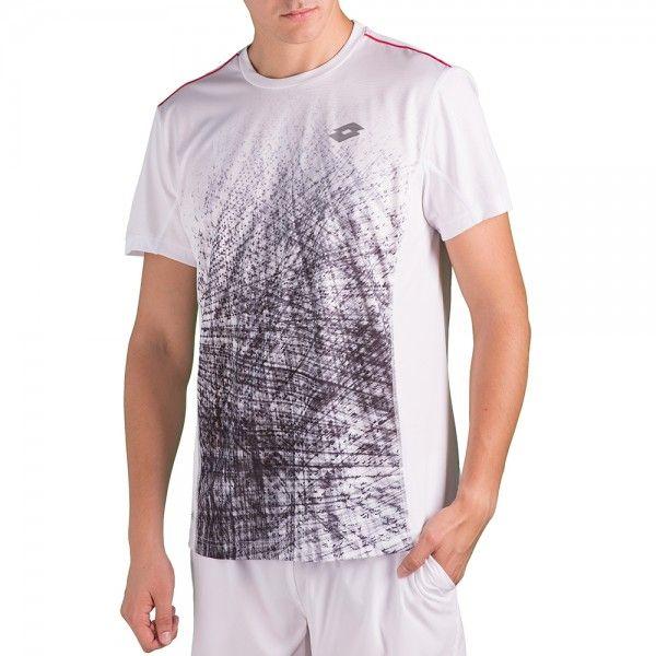 Lotto Футболка для тенниса мужские модель T5014 , 2017
