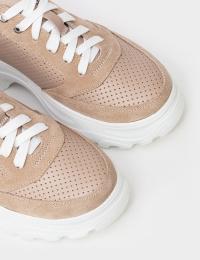 Кросівки  для жінок Кроссовки T817-75-95 бежевая кожа/замша T817-75-95 замовити, 2017