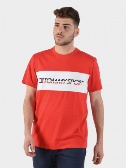 Футболка Tommy Hilfiger модель S20S200082-XBF — фото - INTERTOP