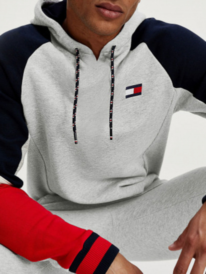 Худі Tommy Hilfiger BLOCKED FLEECE HOODIE модель S20S200548-P6S — фото 3 - INTERTOP