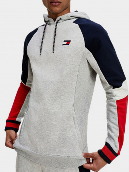 Худі Tommy Hilfiger BLOCKED FLEECE HOODIE модель S20S200548-P6S — фото - INTERTOP