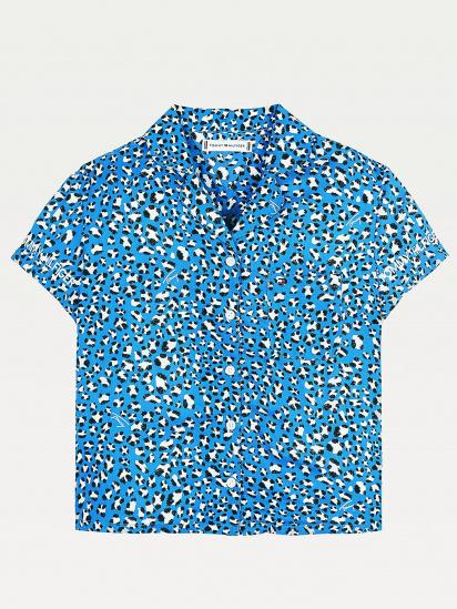 Сорочка з коротким рукавом Tommy Hilfiger модель KG0KG05850-C45 — фото 3 - INTERTOP