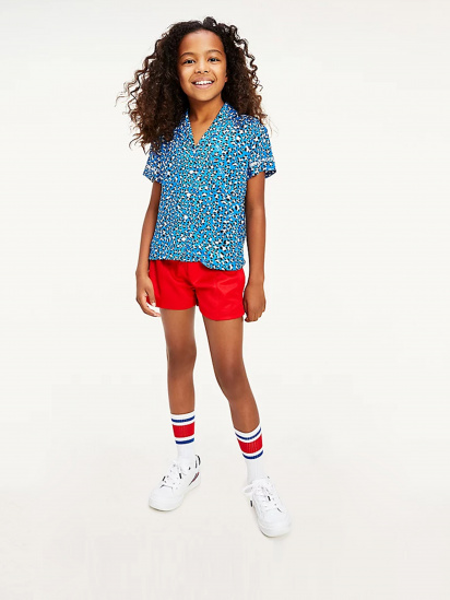 Сорочка з коротким рукавом Tommy Hilfiger модель KG0KG05850-C45 — фото - INTERTOP
