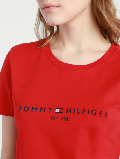 Футболка Tommy Hilfiger модель WW0WW28681-XLG — фото 3 - INTERTOP