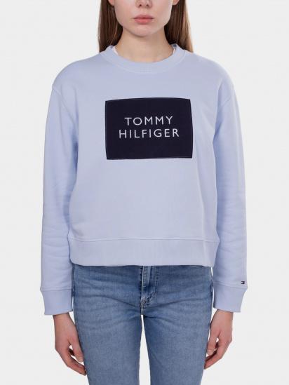 Світшот Tommy Hilfiger модель WW0WW30391-C1O — фото 4 - INTERTOP