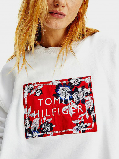 Світшот Tommy Hilfiger модель WW0WW30829-YBR — фото 3 - INTERTOP