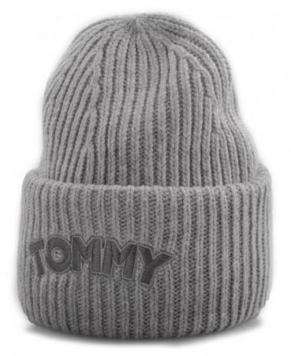 Шапка Tommy Hilfiger модель AW0AW05942-050 — фото - INTERTOP
