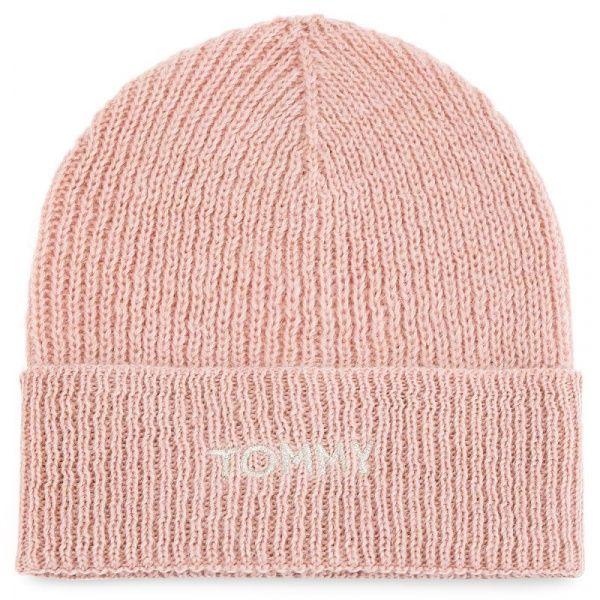Купить Шапка женские модель TC844, Tommy Hilfiger, Розовый
