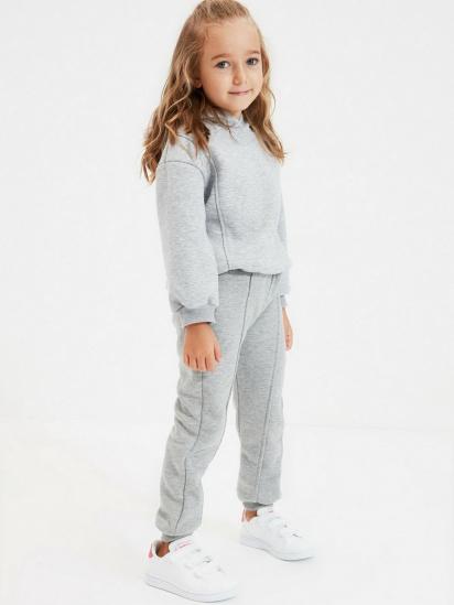 Спортивні штани Trendyol модель TKDAW22EA0117/Gri — фото 4 - INTERTOP