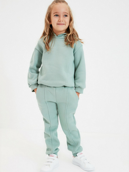 Спортивні штани Trendyol модель TKDAW22EA0117/Mint — фото 4 - INTERTOP