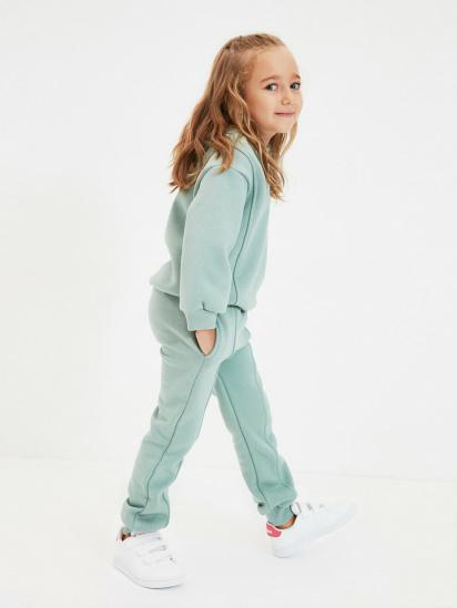 Спортивні штани Trendyol модель TKDAW22EA0117/Mint — фото - INTERTOP