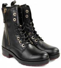 женская обувь Tommy Hilfiger черного цвета приобрести, 2017