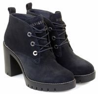 женская обувь Tommy Hilfiger синего цвета приобрести, 2017