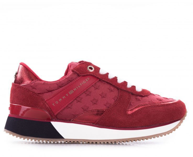 Купить Кроссовки женские Tommy Hilfiger TD1114, Красный