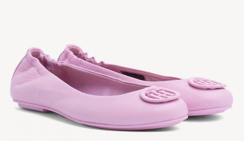Балетки женские Tommy Hilfiger балетки жін. (36-41) TD1223 размерная сетка обуви, 2017