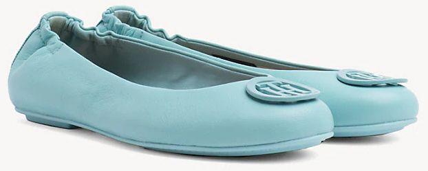 Балетки женские Tommy Hilfiger TD1225 брендовая обувь, 2017