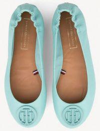 Балетки женские Tommy Hilfiger TD1225 купить обувь, 2017