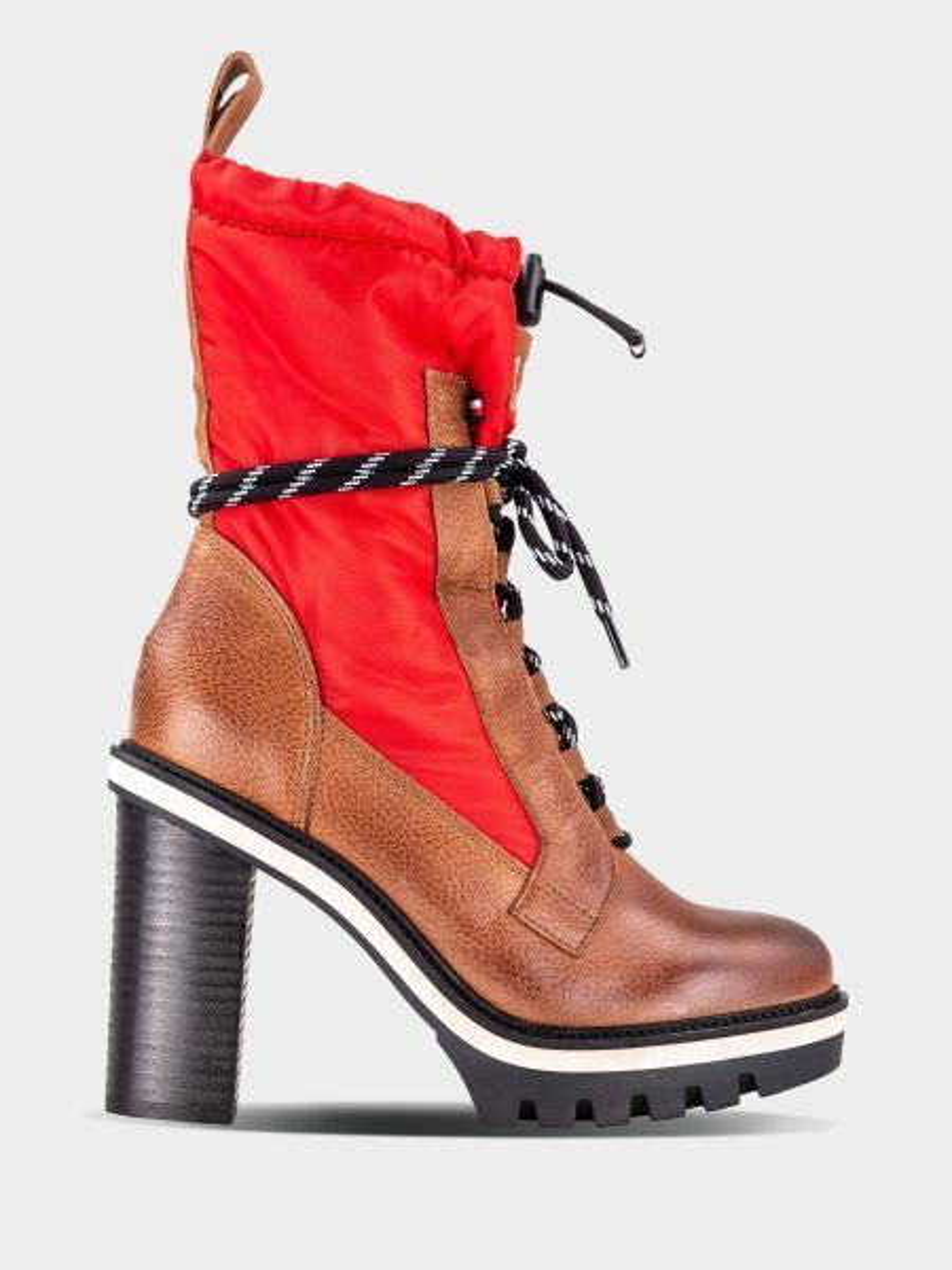 Сапоги для женщин Tommy Hilfiger FASHION WINTER TD1367 брендовая обувь, 2017