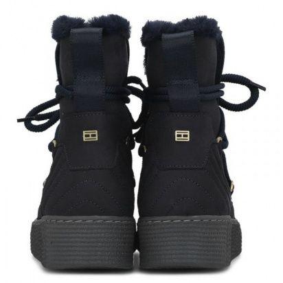 Сапоги для женщин Tommy Hilfiger WARMLINED CLASSIC TD1375 брендовая обувь, 2017