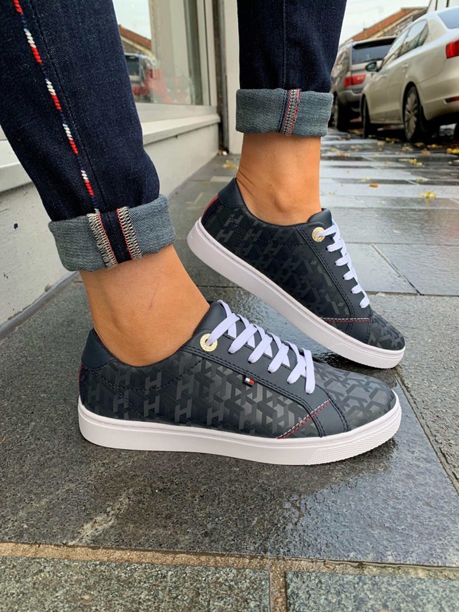 Полуботинки для женщин Tommy Hilfiger TOMMY TD1402 модная обувь, 2017