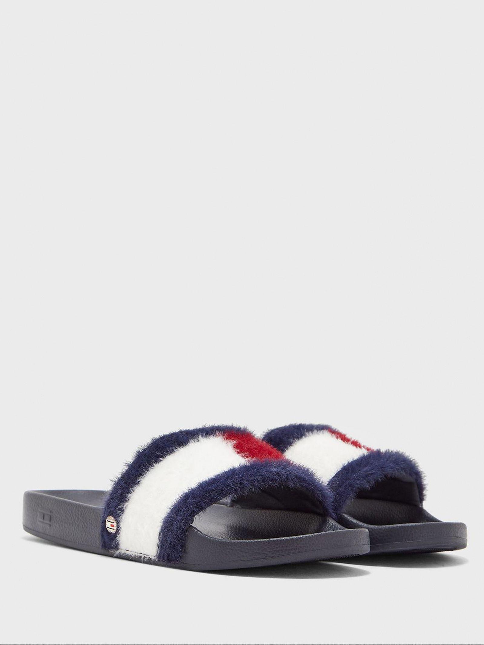 Тапки для женщин Tommy Hilfiger TD1405 брендовая обувь, 2017