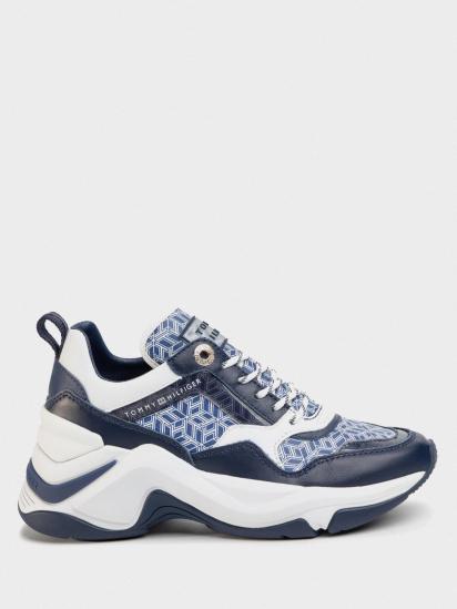 Кроссовки для женщин Tommy Hilfiger INTERNAL WEDGE MONOGRAM SNEAKE FW0FW04713-C7H купить, 2017