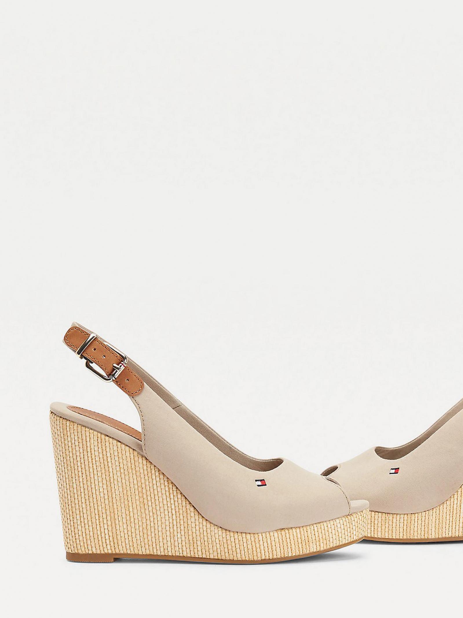 Босоніжки  для жінок Tommy Hilfiger ICONIC ELENA SLING BACK WEDGE FW0FW04789-AEP розмірна сітка взуття, 2017