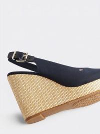 Босоніжки  для жінок Tommy Hilfiger ICONIC ELENA SLING BACK WEDGE FW0FW04789-DW5 розмірна сітка взуття, 2017