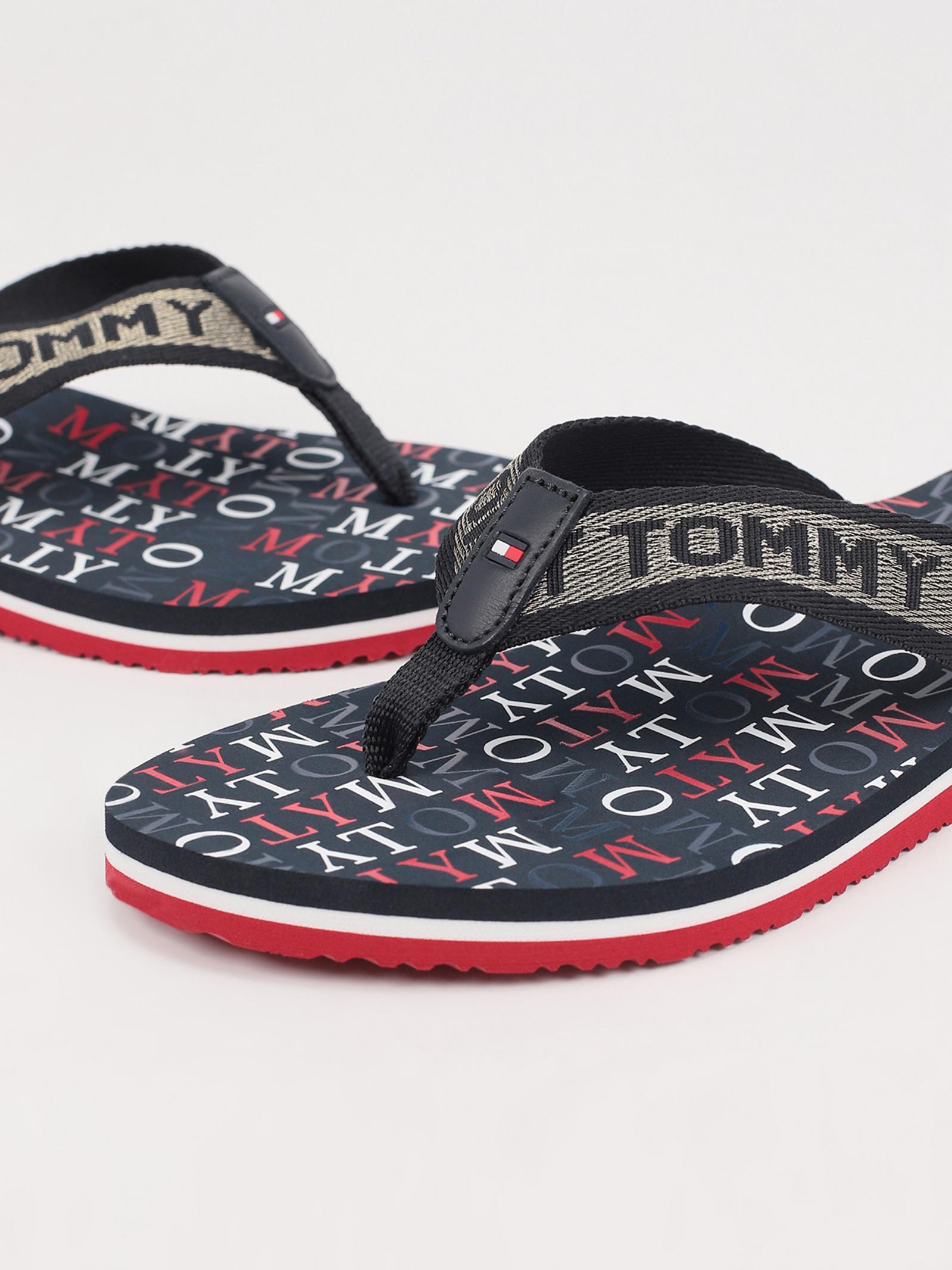 Шльопанці  для жінок Tommy Hilfiger TOMMY METALLIC FLAT BEACH SAND FW0FW04807-0KP ціна, 2017