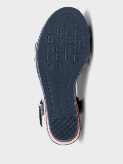 Босоніжки  для жінок Tommy Hilfiger FW0FW04839-DB9 ціна взуття, 2017
