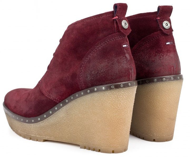 Ботинки для женщин Tommy Hilfiger TD775 примерка, 2017