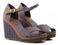 женская обувь Tommy Hilfiger фиолетового цвета купить, 2017