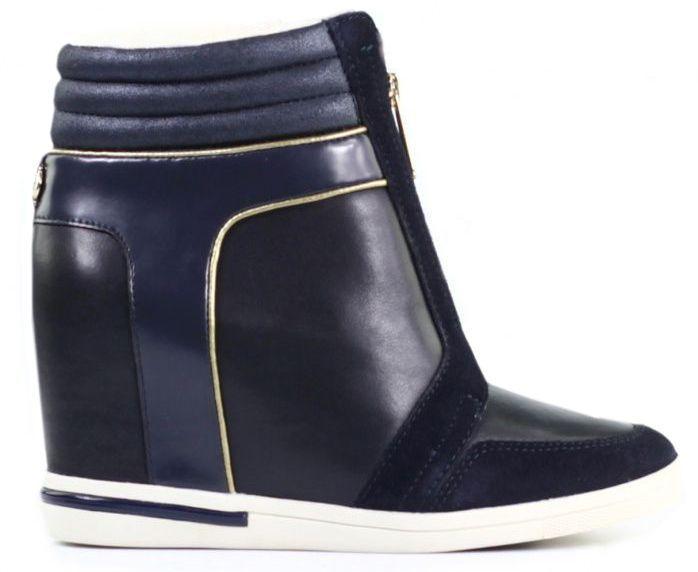 Купить Ботинки женские Tommy Hilfiger TD889, Синий