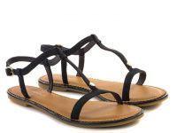 Женские сандалии синие, фото, intertop