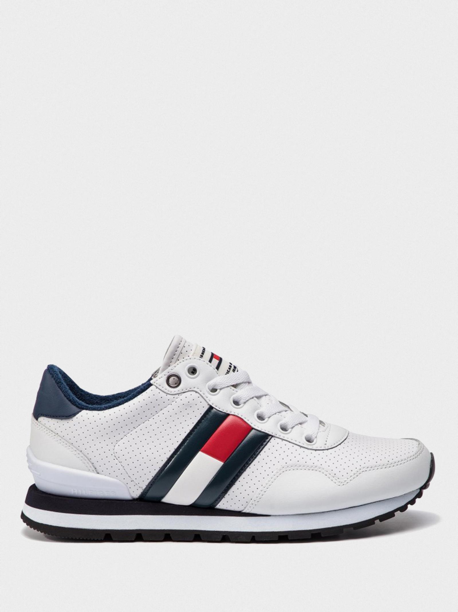 Кроссовки для мужчин Tommy Hilfiger LIFESTYLE TOMMY JEANS SNEAKER EM0EM00263-100 купить онлайн, 2017