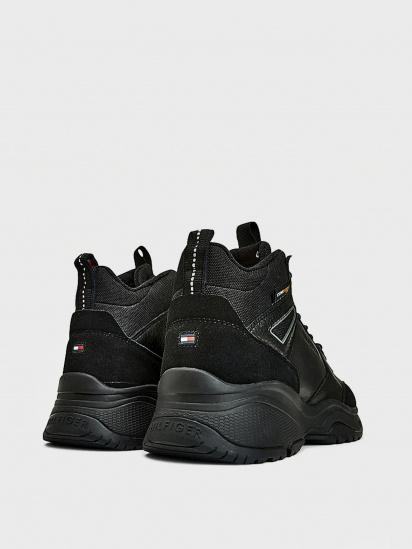 Кросівки для міста Tommy Hilfiger High Sneaker Leather модель FM0FM03273-BDS — фото 2 - INTERTOP
