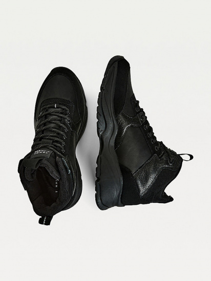 Кросівки для міста Tommy Hilfiger High Sneaker Leather модель FM0FM03273-BDS — фото 3 - INTERTOP