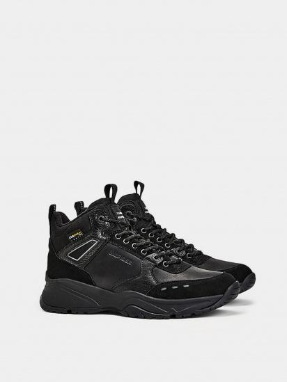 Кросівки для міста Tommy Hilfiger High Sneaker Leather модель FM0FM03273-BDS — фото - INTERTOP