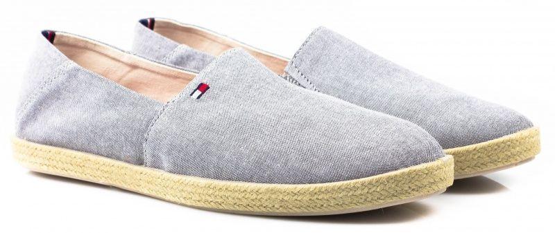 Cлипоны для мужчин Tommy Hilfiger TE535 брендовая обувь, 2017