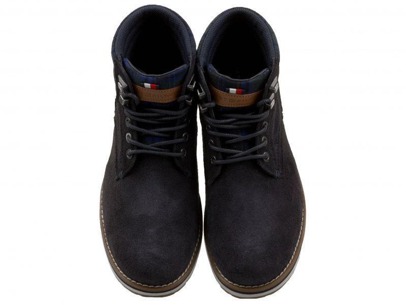 Ботинки для мужчин Tommy Hilfiger TE666 примерка, 2017
