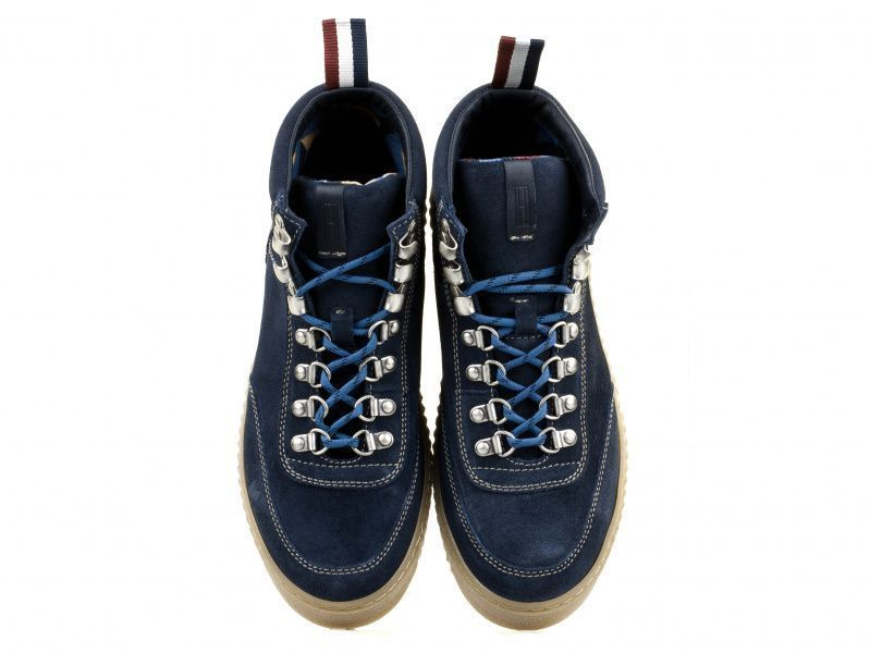 Ботинки для мужчин Tommy Hilfiger TE673 примерка, 2017