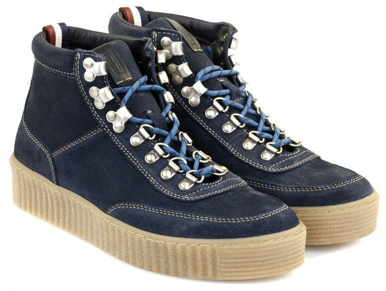 Купить Ботинки мужские Tommy Hilfiger TE673, Синий