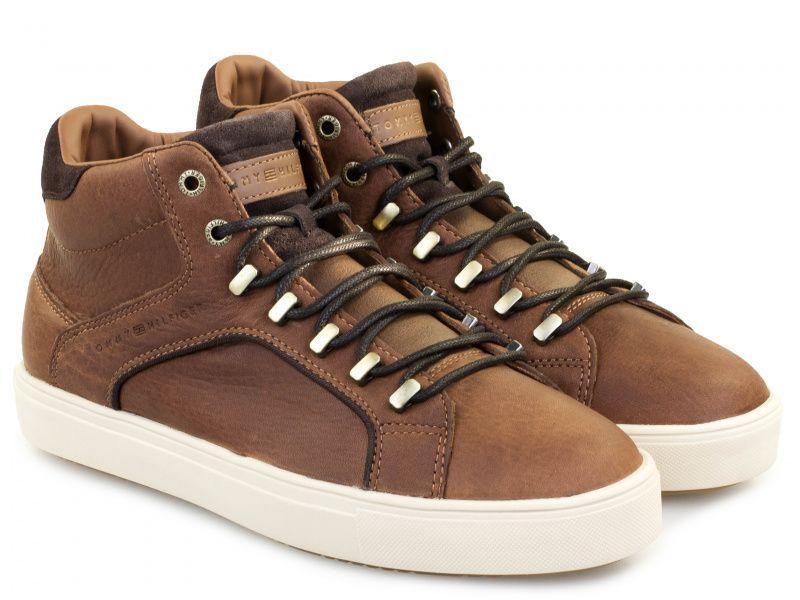 Купить Ботинки мужские Tommy Hilfiger TE697, Коричневый