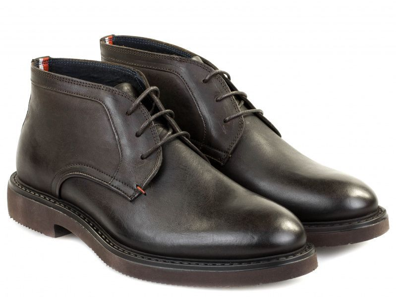 Купить Ботинки мужские Tommy Hilfiger TE701, Коричневый