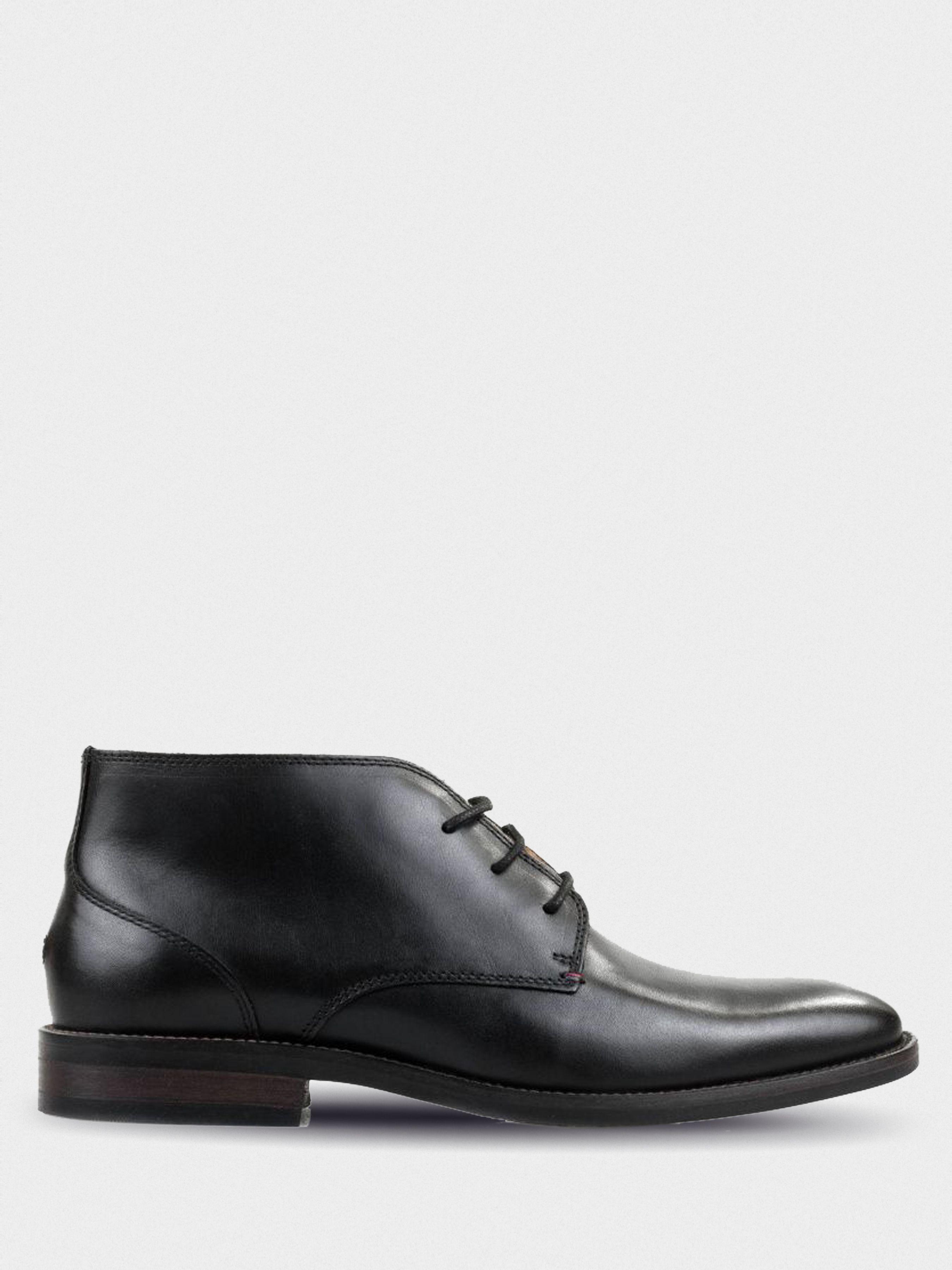 Купить Ботинки мужские Tommy Hilfiger TE702, Черный